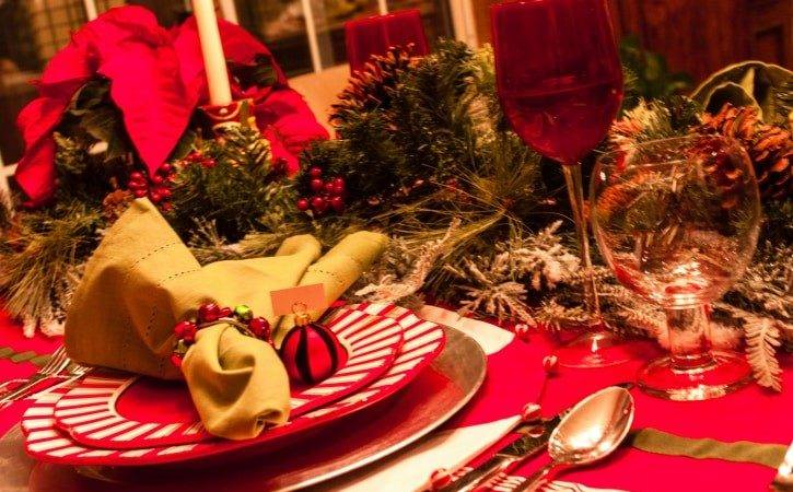 Holiday Ideas Tree Table Centerpieces