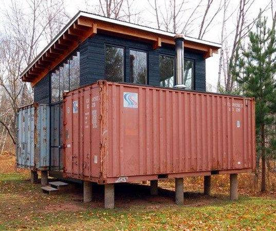 Holyoke Cabin Beautiful Shipping Container Building