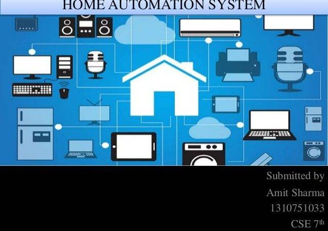 Home Automation System Beautiful Based