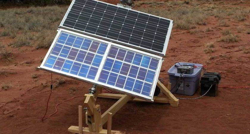 Home Built Solar Panel Projects