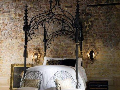Home Decor Luxury Bedrooms Flaunting Decorative Canopy