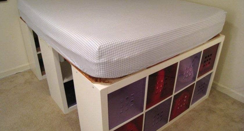 Home Design Cool Double Bed Storages