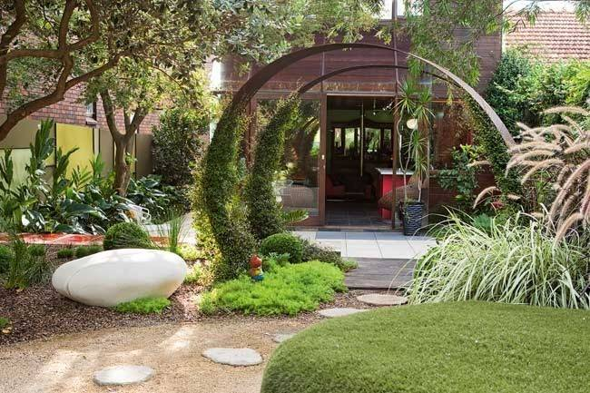 Home Design Unique Garden