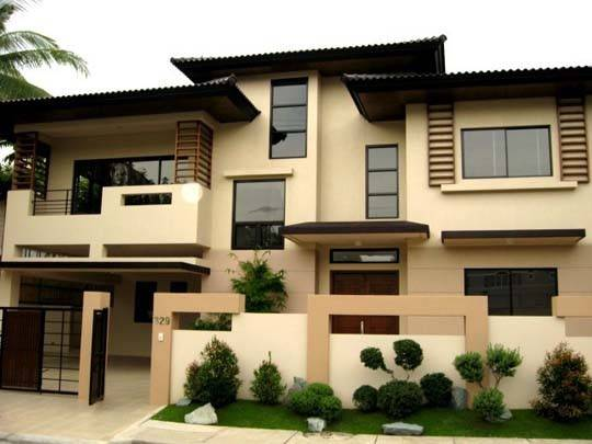 Home Furniture Ideas Modern Asian Exterior House Design