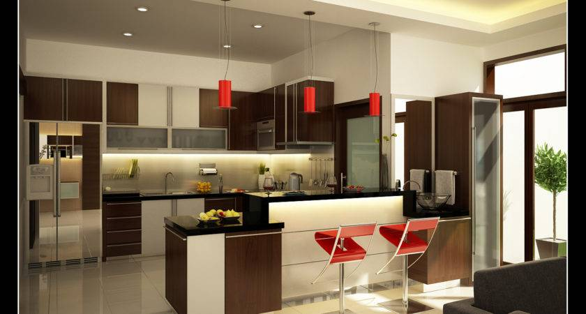 Home Interior Design Decor Kitchen Ideas Set