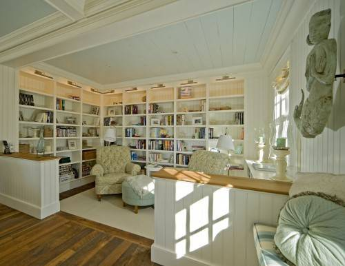 Home Library Design Ideas Linking Space