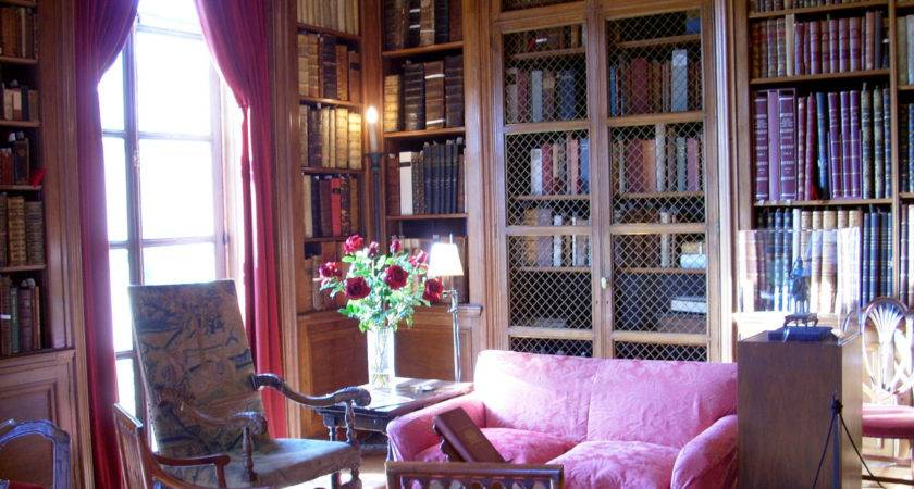 Home Library Room Design Examples Interior Decoration