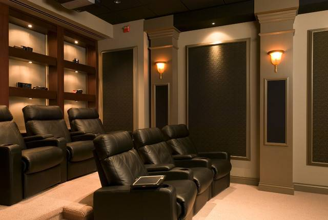 Home Movie Theaters Contemporary Theater