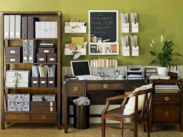 Home Office Interior Cor Ideas