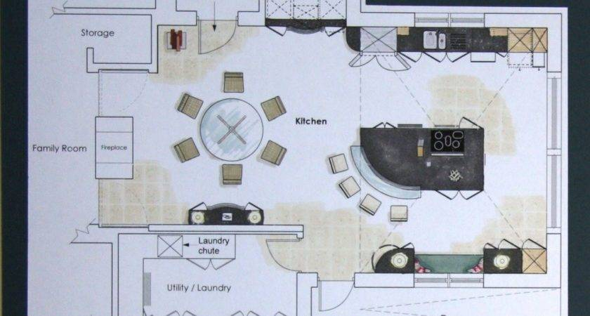 Home Office Layout Floor Plan Furniture Space Planning