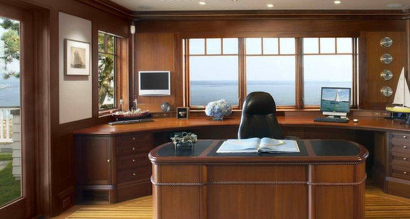 Home Office Traditional Decorating Ideas
