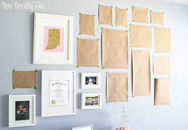 Home Office Wall Decorating Ideas Two Twenty One
