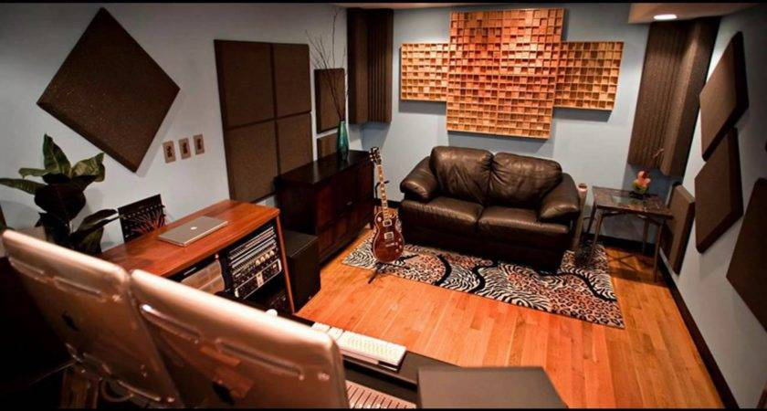 Home Recording Studio Design Decorating Ideas Youtube