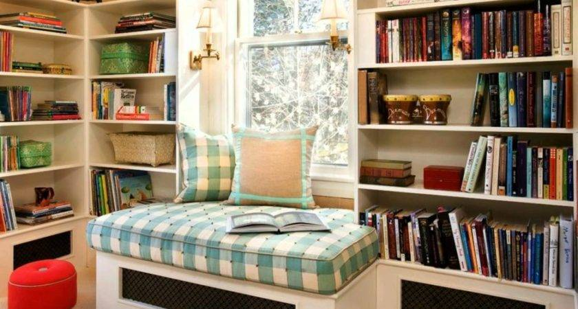 Home Small Library Reading Room Ideas Fabulous