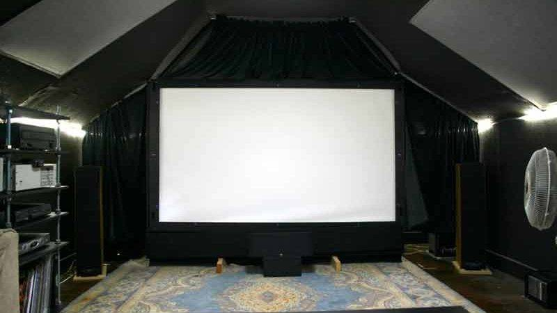 Home Theater Room Old Moe