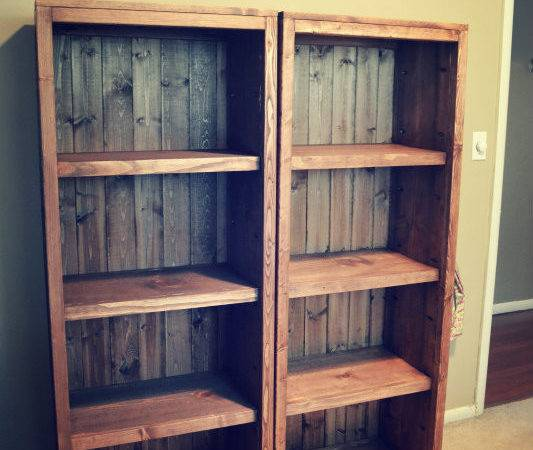 Homemade Bookcase Plans Woodworking Joining Table Top