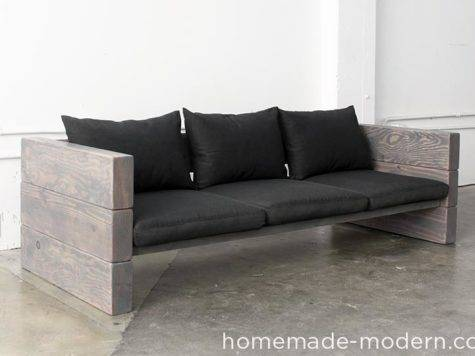 Homemade Modern Outdoor Sofa