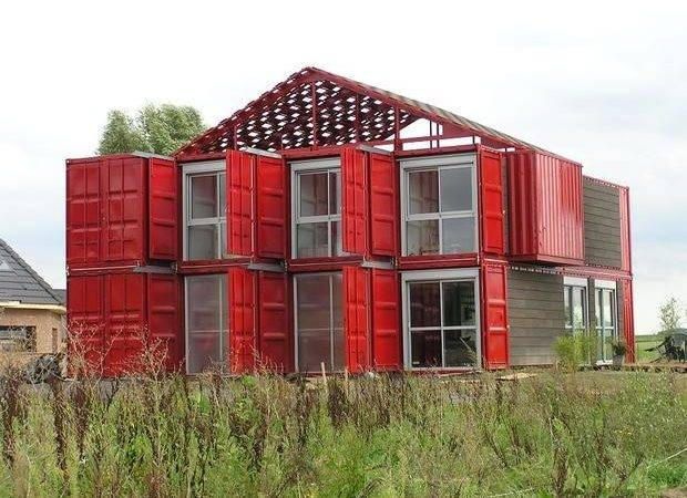 Homes Built Shipping Containers Cbs News