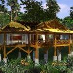 Homes Stilts Jungle House