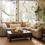 Honey Home Our Living Room Sectional Pottery Barn