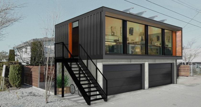 Honomobo Modular Shipping Container Homes Seem Straight