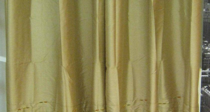 Horizon Embroidery Grommet Inch Curtain Panel Idolza