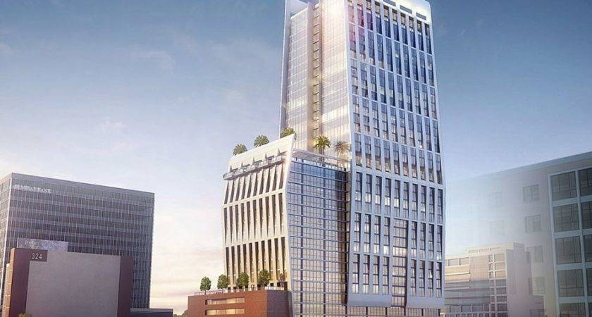 Hotel Apartment Tower Planned Koreatown Nouveau