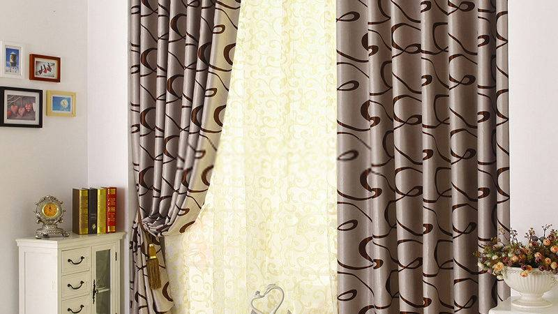 Hotel Blackout Curtains Presented Modern Style