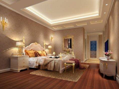 Hotel Design Luxury Bedroom