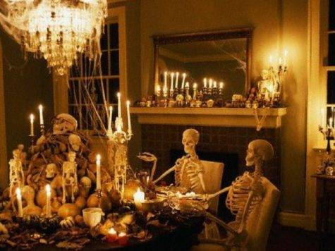 House Decoration Ideas Halloween Party Lighting