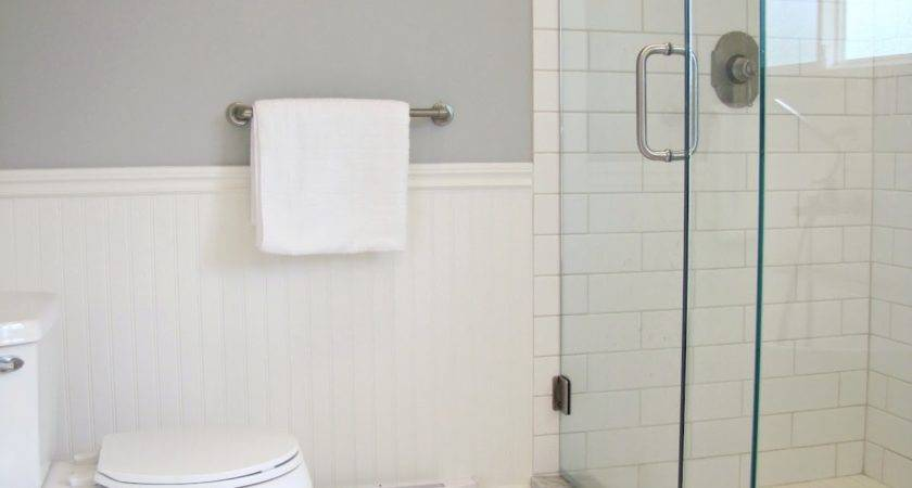 House Giggles White Grey Bathroom Renovation