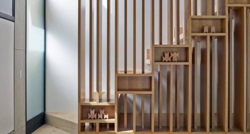House Interesting Wooden Staircase Design