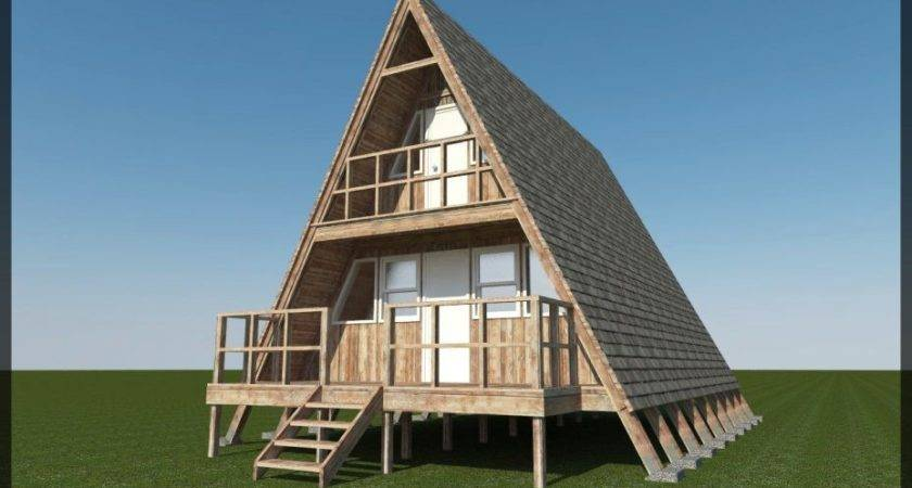 House Plan Build Your Own Frame Story Cabin Diy Plans