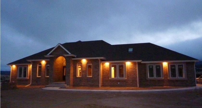 House Recessed Soffit Lighting Exterior Outdoor Windows