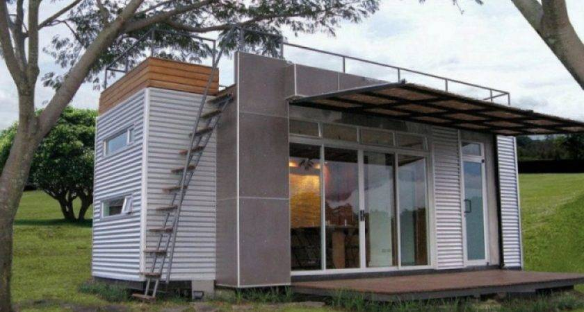 Houses Made Containers Container House Design