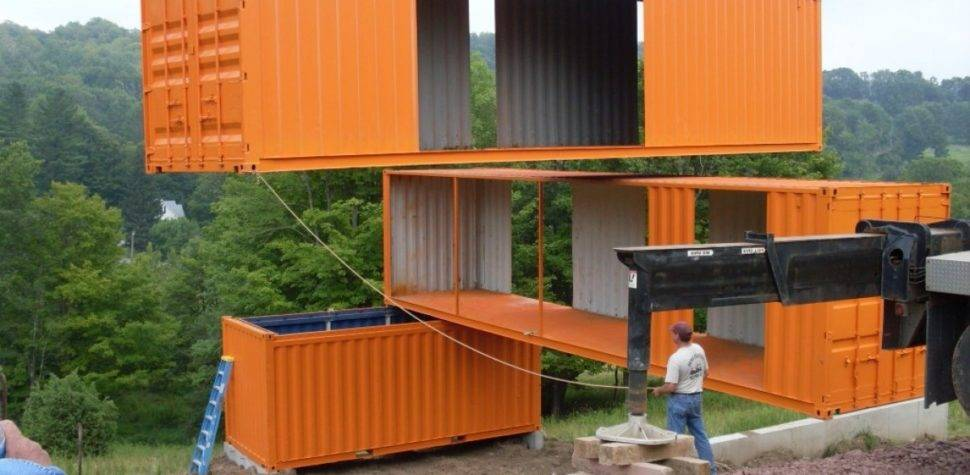 Houses Made Shipping Containers House