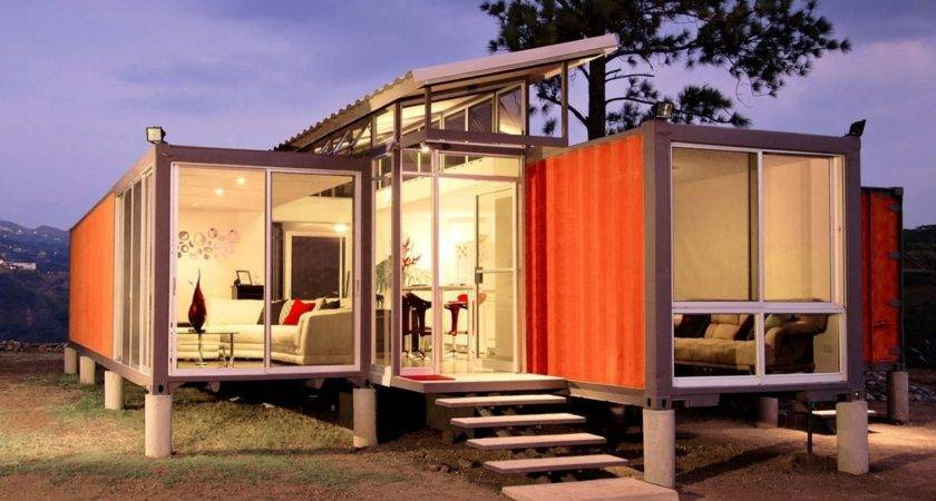 Houses Out Shipping Containers Container House Design