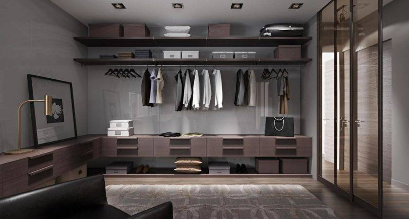 Huge Walk Closet Interior Design Ideas