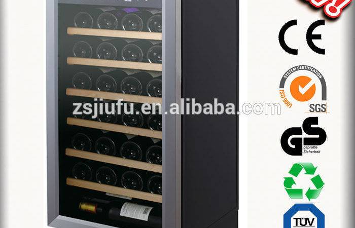 Humidity Control Wine Cooler Loading Bottles Zanussi