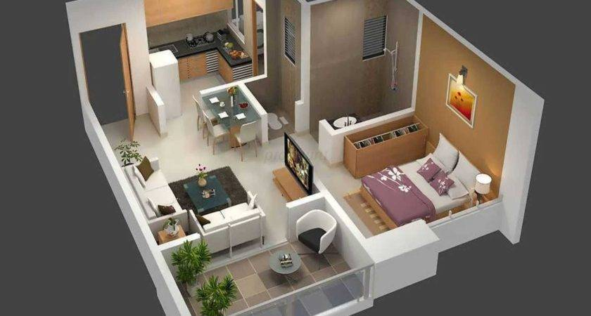 Idea One Bedroom Apartment House Layout Interior
