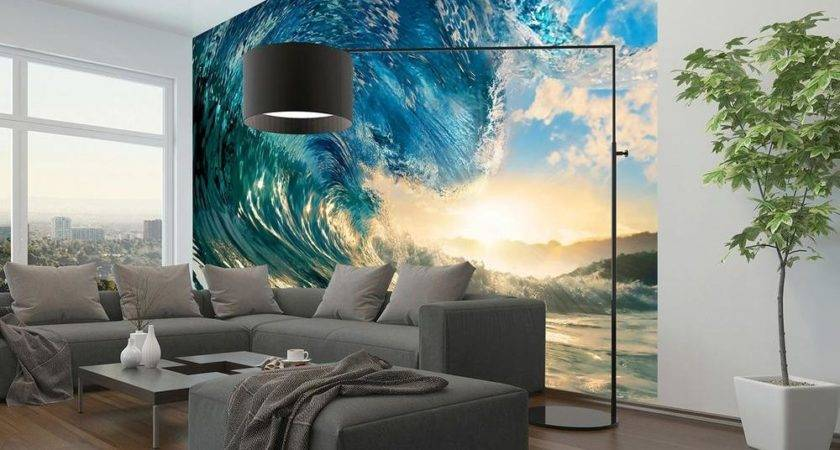 Ideal Decor Perfect Wave Wall