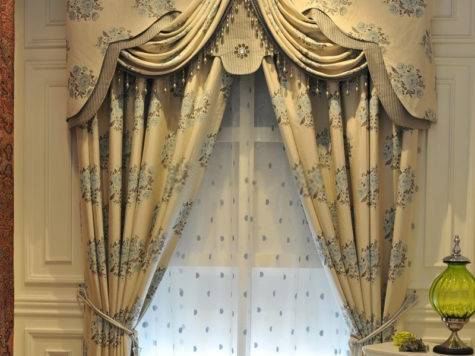 Ideal Window Curtains Jacquard Design Style