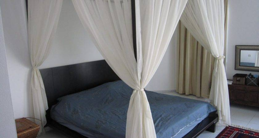 Ideas Canopy Bed Curtains