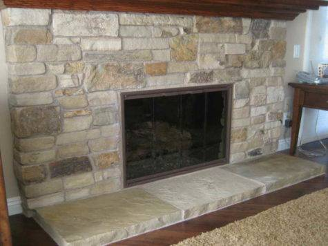 Ideas Design Natural Stone Fireplaces