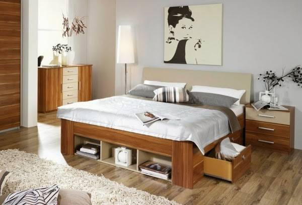 Ideas Double Bed Storage Drawers Boxes