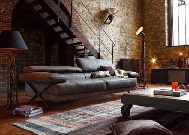 Ideas Give Your Home Rustic Industrial Touch