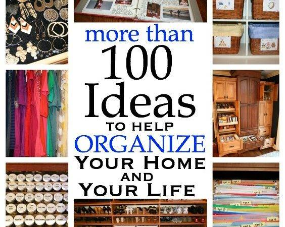 Ideas Help Organize Your Home Life