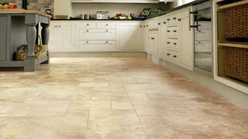 Ideas Kitchen Flooring Grasscloth