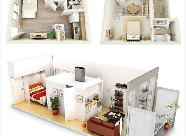 Ideas One Bedroom Apartment Floor Plans