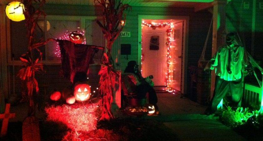 Ideas Outdoor Halloween Decoration Make Your